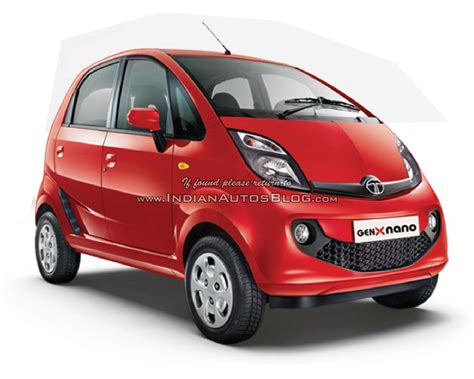 indian car tata nano genx revealed with easyshift scoop