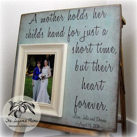 mother gifts mother of the bride gift personalized picture frame a mother