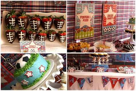 Sports Themed Baby Shower by Baby Shower Eat Sleep Play Pizzazzerie