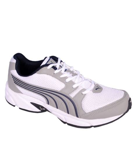 buy cool white running shoes for snapdeal