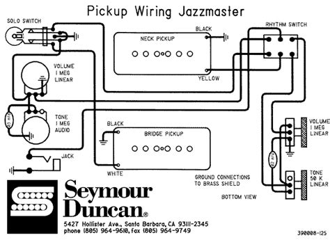 fender jazzmaster wiring diagram 32 wiring diagram