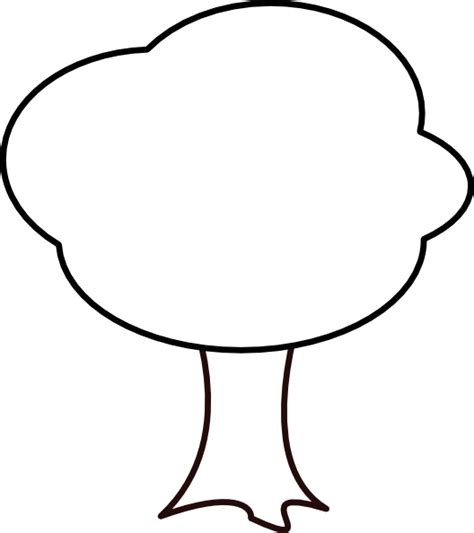 tree clipart black and white black and white tree clip at clker vector clip