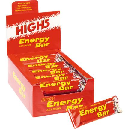 top rated energy bars wiggle high5 energy bars 25x60g energy recovery food
