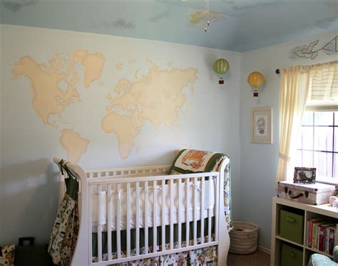 Travel Themed Gender Neutral Nursery Project Nursery Travel Themed Nursery Decor