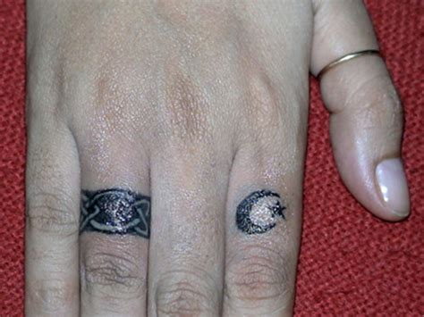 moon finger tattoo 50 attractive symbol tattoos