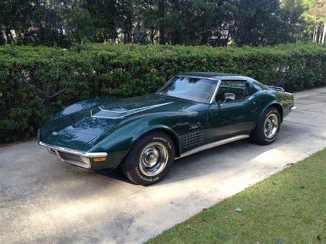 used corvettes for sale in louisiana find used 1969 corvette convertible 427 435 in baton