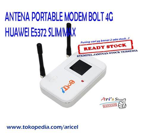 Modem Bolt E5372 Max jual px3 antena portable modem bolt 4g huawei e5372 slim