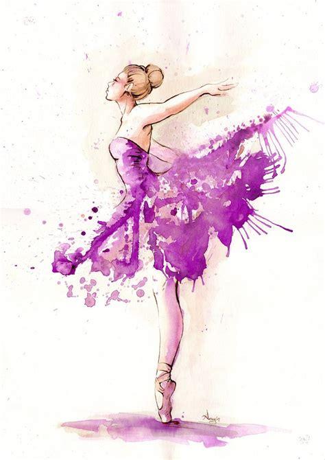 bailarina en  quotes pintura de ballet pintura de