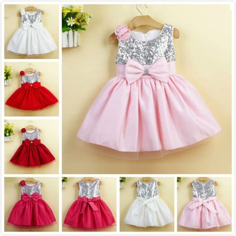 baby birthday dresses newborn baby tutu sequin dresses with big bow 2015