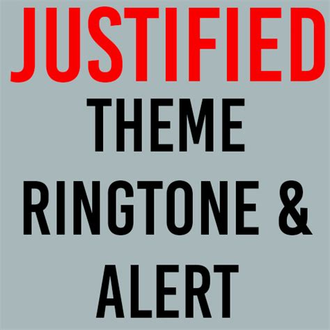 tv themes ringtone amazon com justified theme ringtone appstore for android