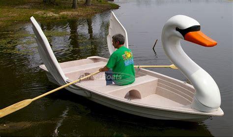 row boat llc swan row boat in action