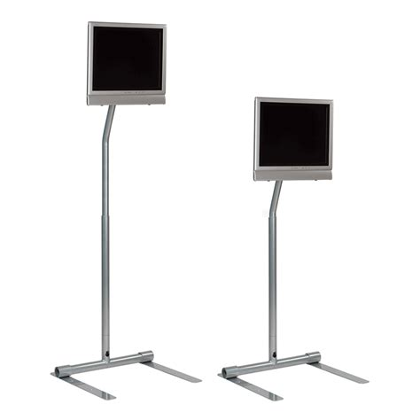tv pole mount floor stand gurus floor