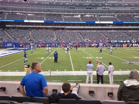 metlife stadium section 116 metlife stadium section 116 giants jets rateyourseats com
