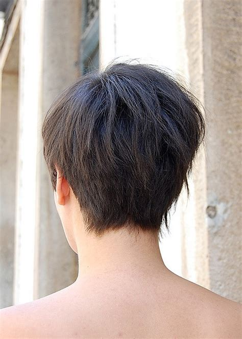 back of short asymetrical haircuts back view of asymmetric bob haircut hairstyles weekly