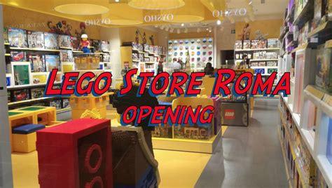 roma store porta di roma inaugurazione lego store roma c c porta di roma