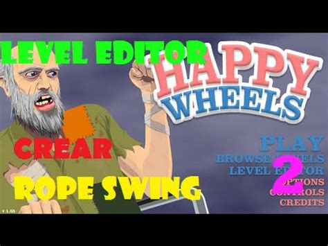 happy wheels rope swing game como crear un rope swing happy wheels dryland8 youtube