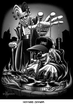 imágenes de joker homies old school tattoos on pinterest chicano art chicano