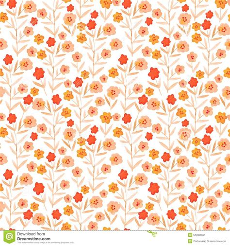 watercolor drawn pattern vector watercolor pattern floral texture with hand drawn