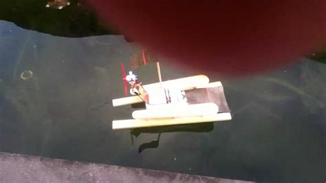 bootje zelf maken zelfgemaakt bootje youtube