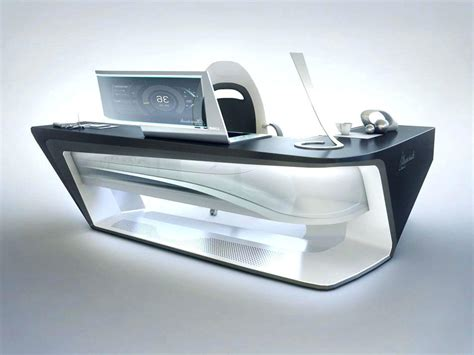 Futuristic Office Desk Futuristic Office Desk Desk Design Ideas