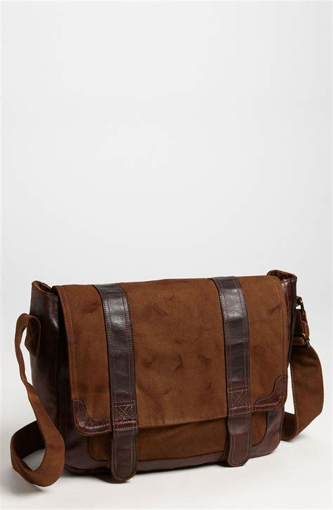 bed stu purses bed stu belos messenger bag in brown for men lyst