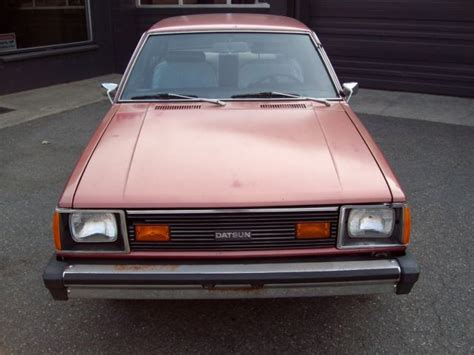 1981 datsun 210 for sale 1981 datsun 210 quot one owner quot quot all original actual