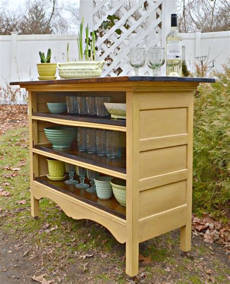 hand built rustic kitchen island house food baby 20 of the best upcycled furniture ideas kitchen fun