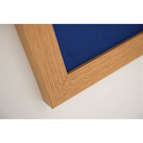 eco friendly wood eco friendly duo wood frame notice board noticeboards online