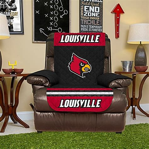 bed bath and beyond louisville university of louisville recliner cover bed bath beyond