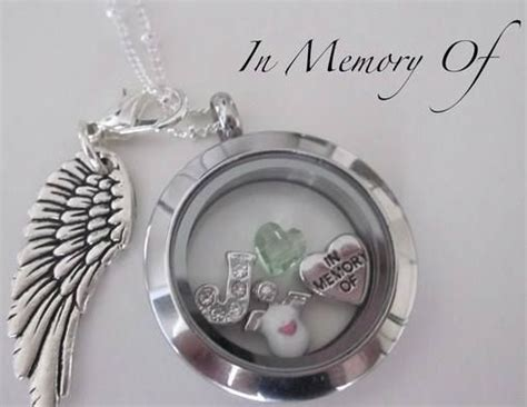 origami owl in memory of 16 best remembrance lockets images on living