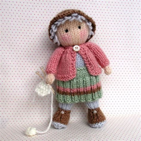 knit doll pattern 26 best knitted doll patterns images on