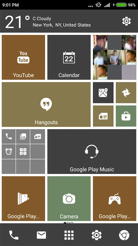 metro themes launcher ex pro win 10 metro launcher theme android apps on google play
