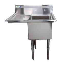 18 Gauge Kitchen Sinks Stainless Steel by Left Drainboard Regency 38 1 2 Quot 16 Gauge Stainless Steel