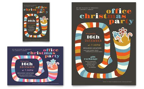 microsoft office templates for word holiday christmas party flyer ad template word publisher
