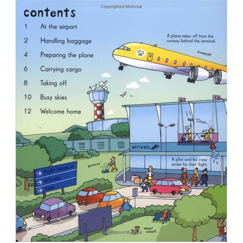 Ltf Usb Look Airp Usborne Look Inside Airport 50 Flaps usborne look inside an airport flap book babyonline