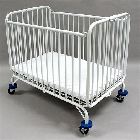 Crib Hotel by La Baby Size Metal Folding Crib Cribs At Hayneedle