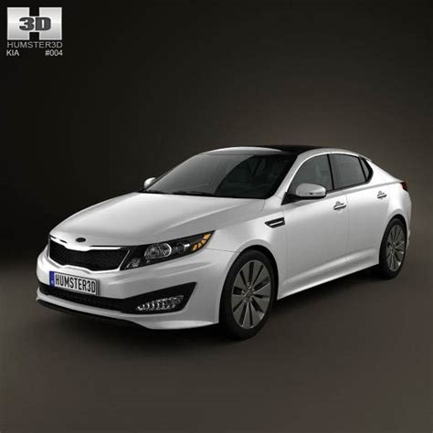 Kia 2011 Model Kia Optima K5 2011 3d Model Humster3d