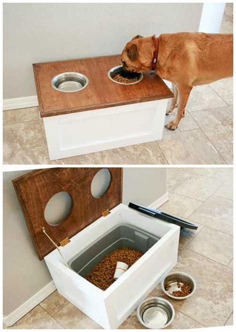 puppy station die besten 17 ideen zu feeding station auf angehobene hund einzug
