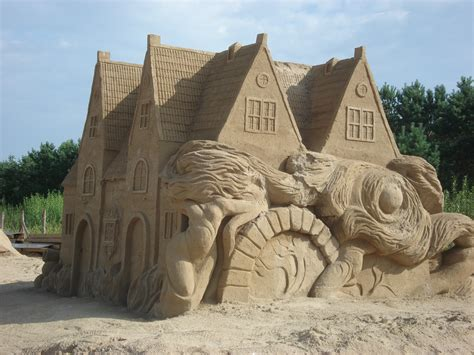 what is a made of file gdansk sculptures made of sand jpg wikimedia commons