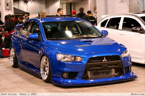 mitsubishi evo blue 2013 evo x lancer autos post
