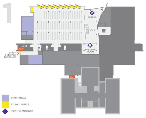 1 level floor plans level 1 floor map sawyer library