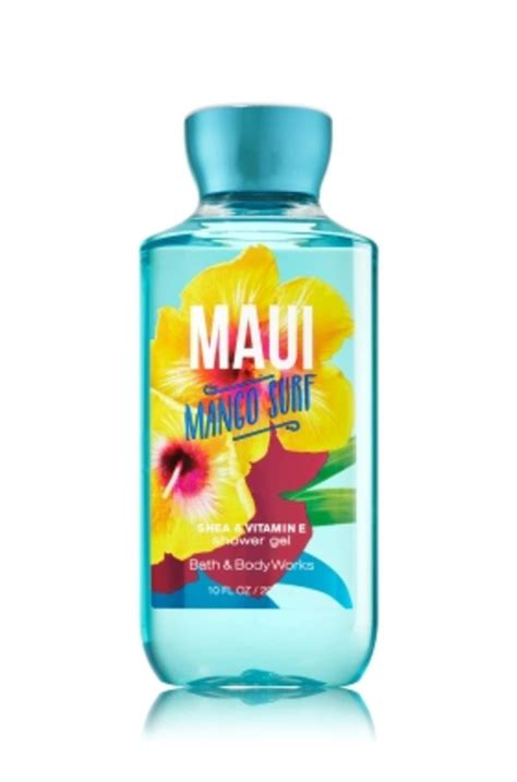 bath and works shower gel shower gel mango surf bath works