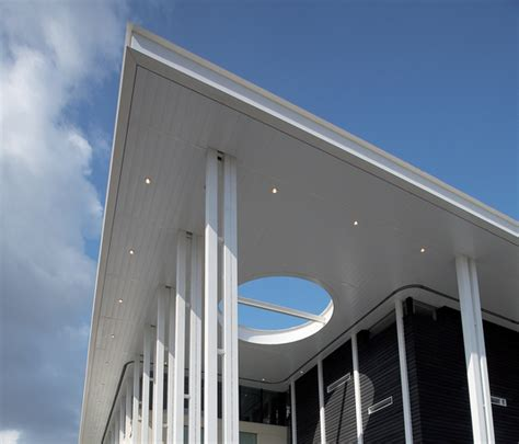Horizontale Fassade by Exterior Wide Panel Metal Ceiling Facade Cladding From