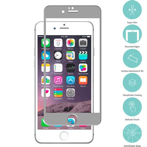 Tempered Glass And Phone For Iphone 6 Plus for iphone 6 plus 6s plus tempered glass screen protector ebay