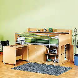 Bunk Bed With Desk And Storage Loft Bed With Storage And Desk
