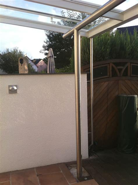 veranda ohne dach veranda aus pulverbeschichteten aluminiumprofilen mit