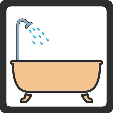 bath sign clip at clker vector clip