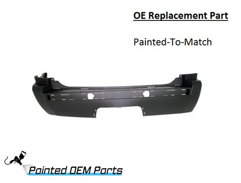 2006 Jeep Grand Rear Bumper Cover Painted 2005 2010 Jeep Grand Oe Replacement Rear