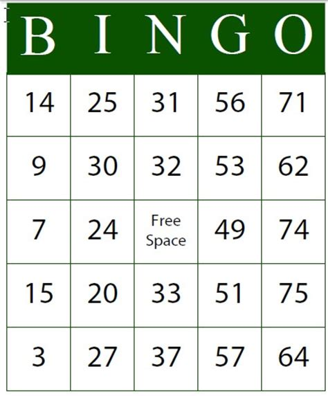 bingo card template generator esl librarian free bingo card generator programs that