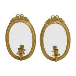 Candle Frame 56 Vintage Gold Frame Wall Mirrors With Candle